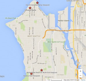 2015_08_12 Stargazing in West Seattle Map