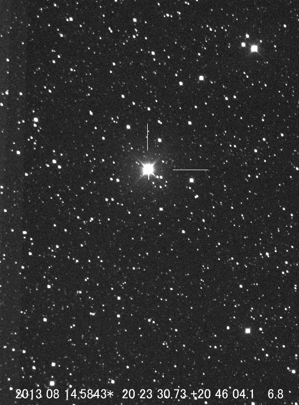 K. Itagaki's image of the Possible Nova in Delphinus